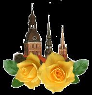 Латвийская роза